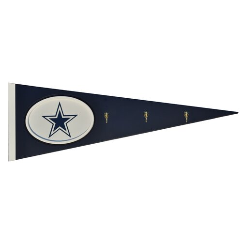 Fan Creations NFL Pennant with Hooks Wall Décor