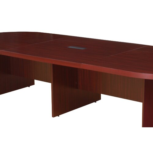 """Regency Legacy 48"""" Modular Extension with Grommet for Legacy Modular Conference Tables"""