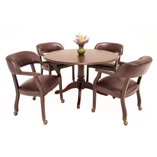 Regency Prestige Traditional Veneer Round Gathering Table