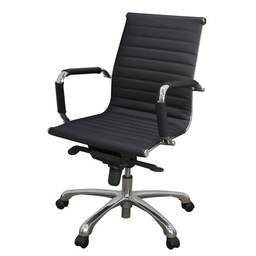 Regency Solace Leather Professional Chair with Arms