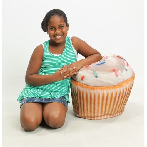 Wow Works LLC Cupcake Junior Bean Bag Chair