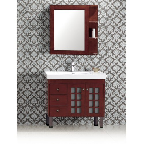 "Evelyn 35.75"" Bathroom Vanity Set"