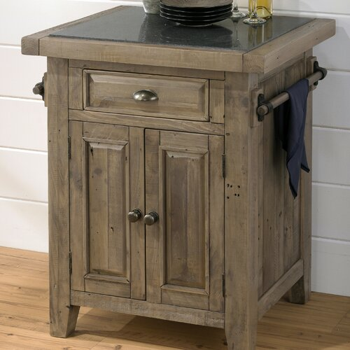 Slater Mill Kitchen Island with Granite Top