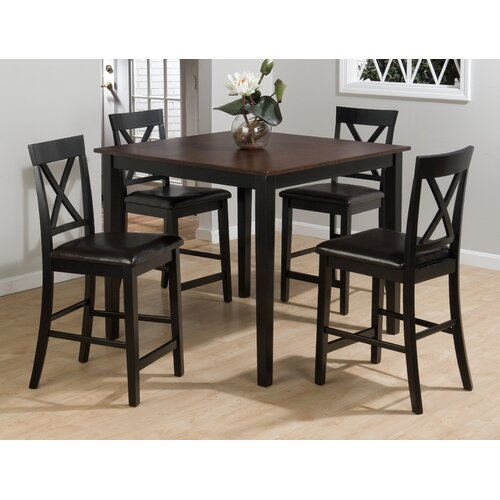 Jofran Burly 5 Piece Counter Height Dining Table Set  : Jofran Burly 5 Piece Counter Height Dining Table Set from www.wayfair.com size 500 x 500 jpeg 56kB