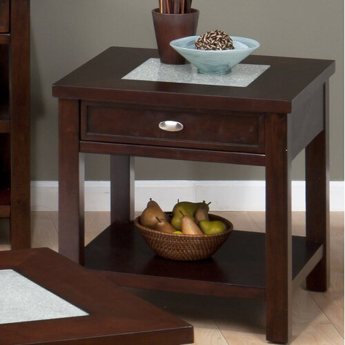 Jofran Chadwick Espresso End Table