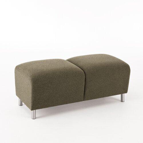 Lesro Ravenna Series Upholstered Two Seat Bench