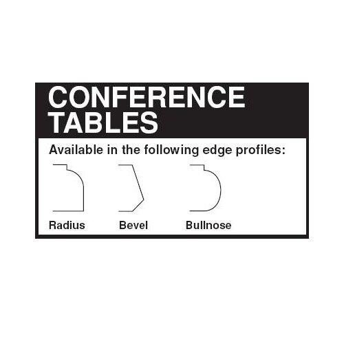Lesro Contemporary 5' Conference Table