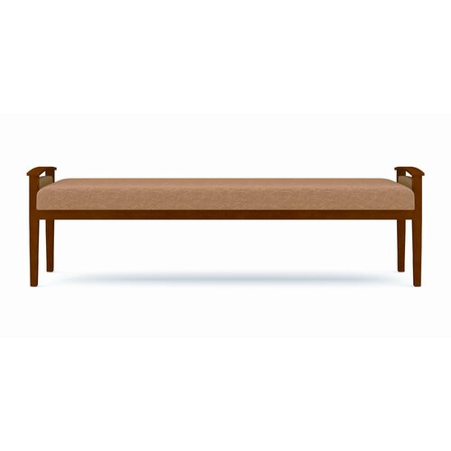 Lesro Amherst Three Seat Bench with Open Arm