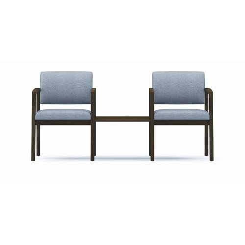 Lesro Lenox Two Chairs with Wood Frame