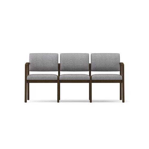 Lesro Lenox Three Seats with Wood Leg