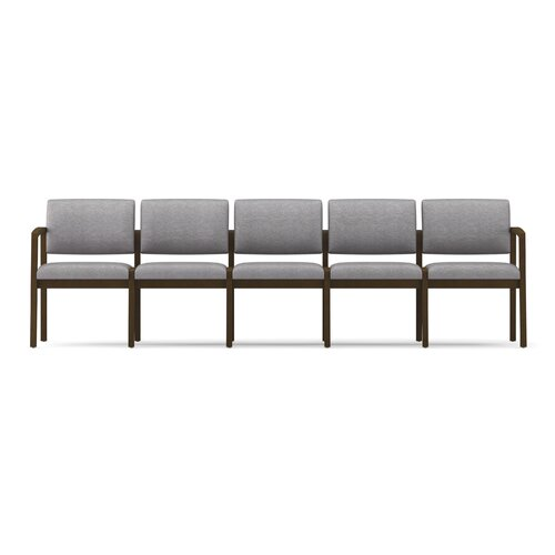 Lesro Lenox Five Seats with Wood Leg