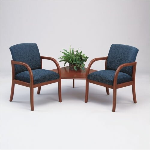 Lesro Weston Two Chairs with Connecting Table