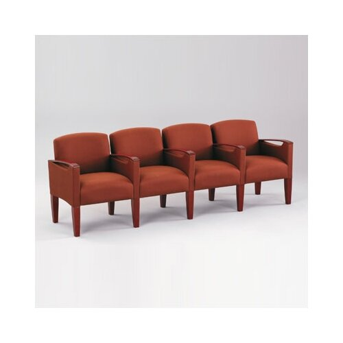 Lesro Brewster Four Seats with Center Arm