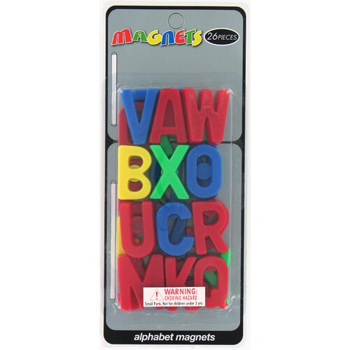 Bradshaw Alphabet Magnets (26 Pieces)