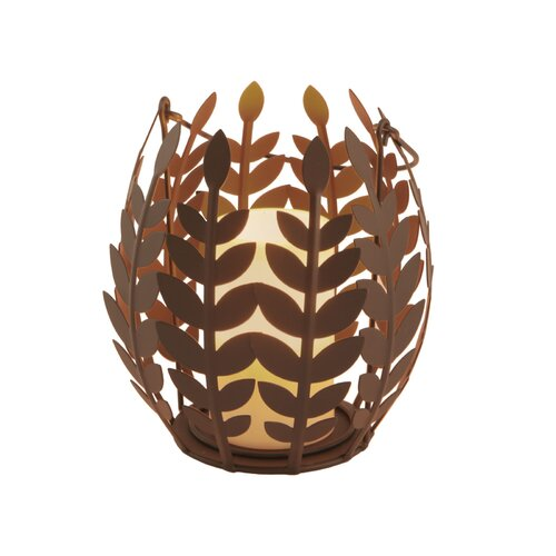 Pacific Accents Wisteria Leaf Basket