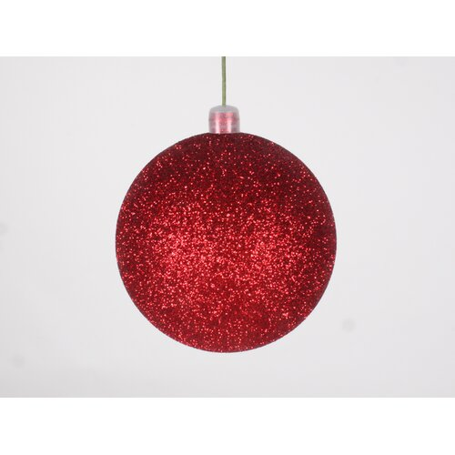 Queens of Christmas Glitter Ball Ornament