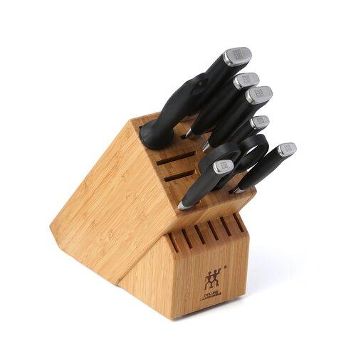 Twin Four Star II 9 Piece Cutlery Block Set