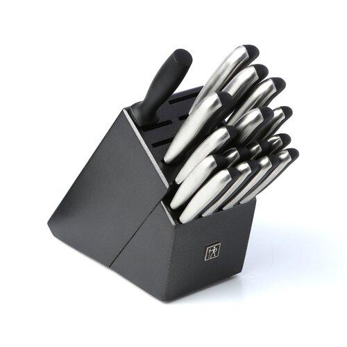 International Fine Edge Synergy 17 Piece Cutlery Block Set