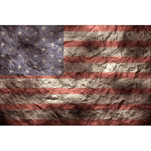 America the Great Graphic Art on Canvas