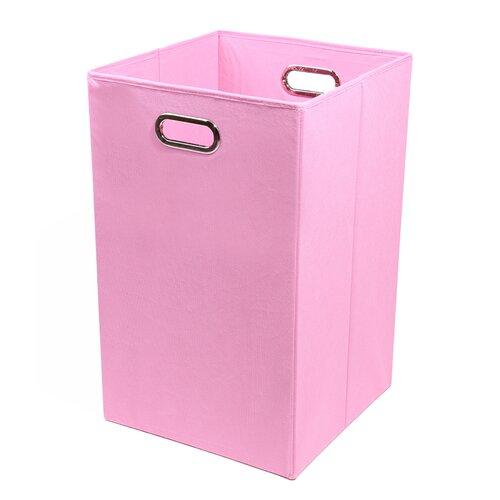 Modern Littles Rose Folding Laundry Basket