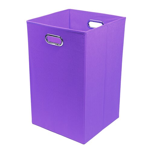 Modern Littles Color Pop Folding Laundry Basket