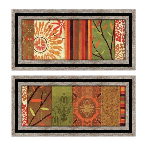 Autumn Classic 2 Piece Framed Graphic Art Set