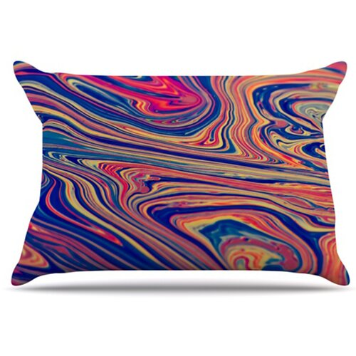 KESS InHouse Soap and Water Pillowcase