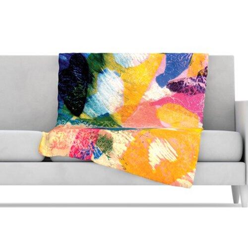 KESS InHouse Texture Fleece Throw Blanket