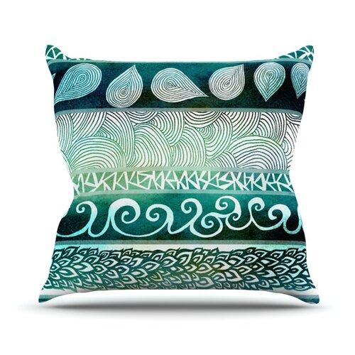 Dreamy Tribal Throw Pillow