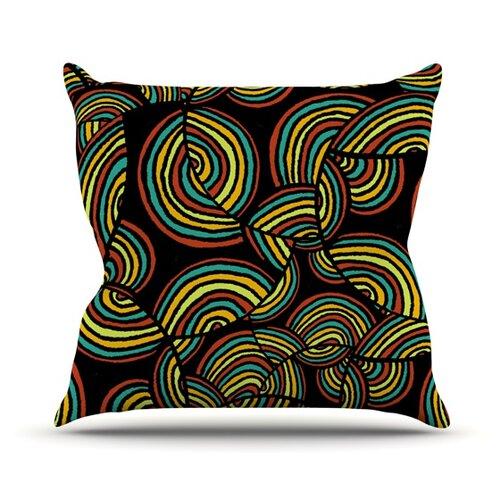 Infinite Depth Throw Pillow