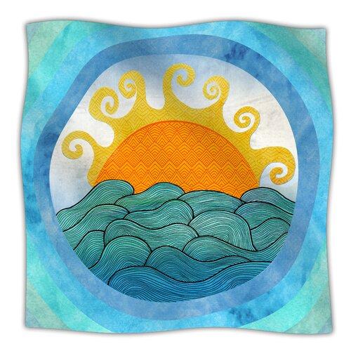 Happy Day Microfiber Fleece Throw Blanket