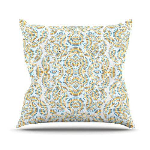 Infinite Thoughts Throw Pillow