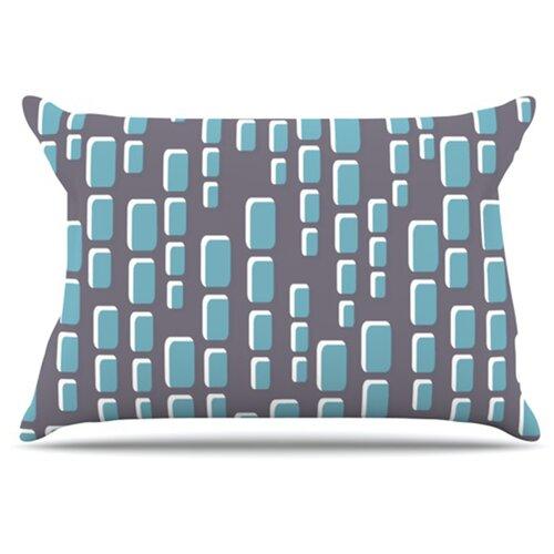 KESS InHouse Cubic Geek Chic Pillowcase