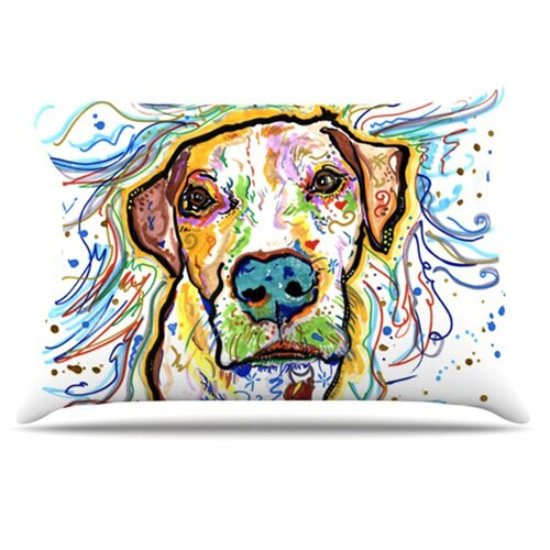 KESS InHouse Ernie Pillowcase