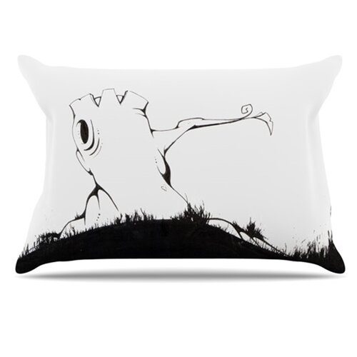 KESS InHouse It's Alright Pillowcase