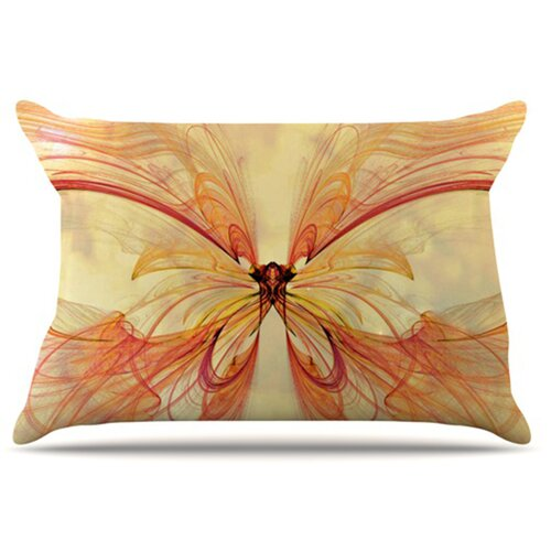 KESS InHouse Papillion Pillowcase