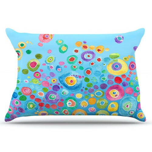 KESS InHouse Inner Circle Pillowcase