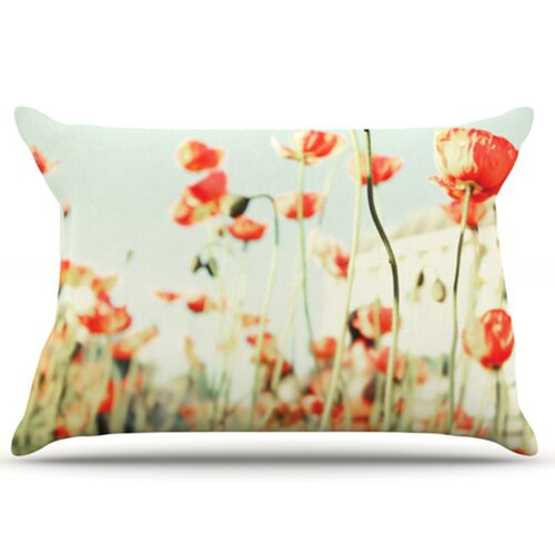 KESS InHouse Poppy Pillowcase