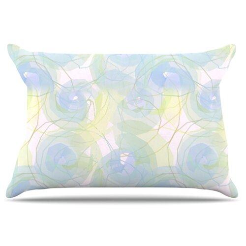 KESS InHouse Paper Flower Pillowcase