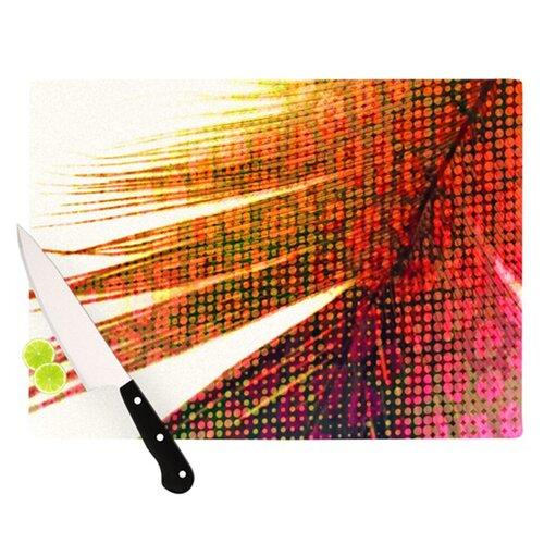 Feather Pop Cutting Board