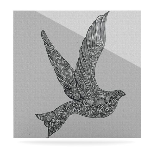 Dove by Belinda Gillies Graphic Art Plaque