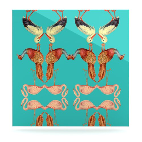 KESS InHouse Glu Glu by Debora Chodik Graphic Art Plaque