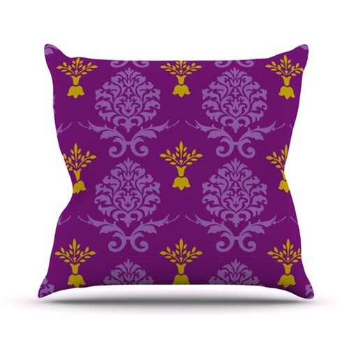 Crowns Throw Pillow
