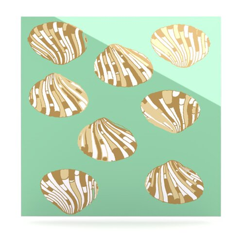 Scallop Shells by Rosie Brown Painting Print Plaque