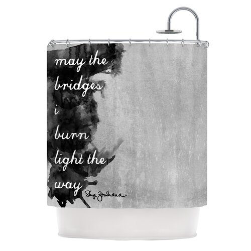 Bridges Polyester Shower Curtain