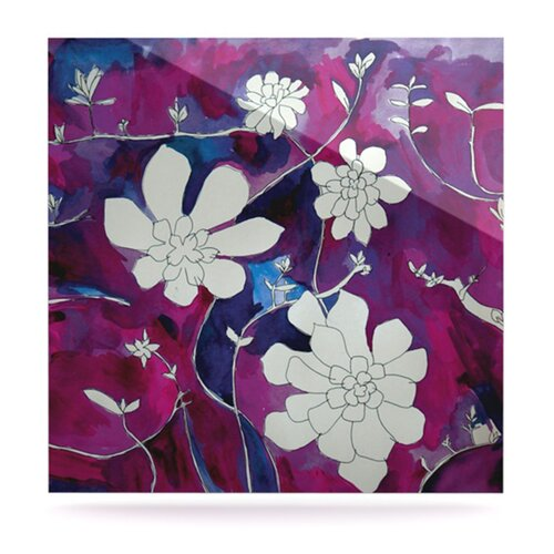 Succulent Dance III by Theresa Giolzetti Painting Print Plaque