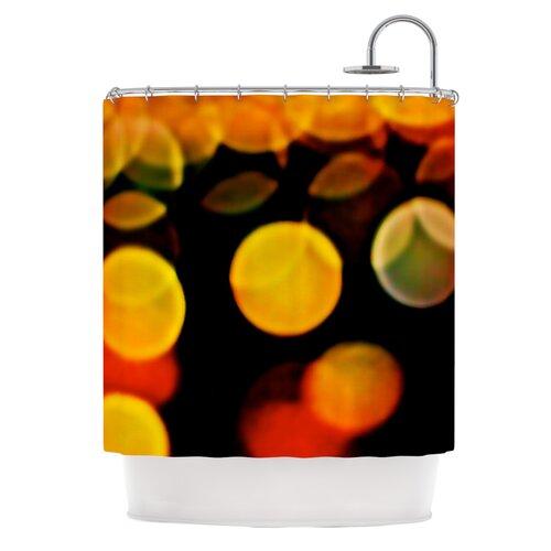KESS InHouse Lights Polyester Shower Curtain