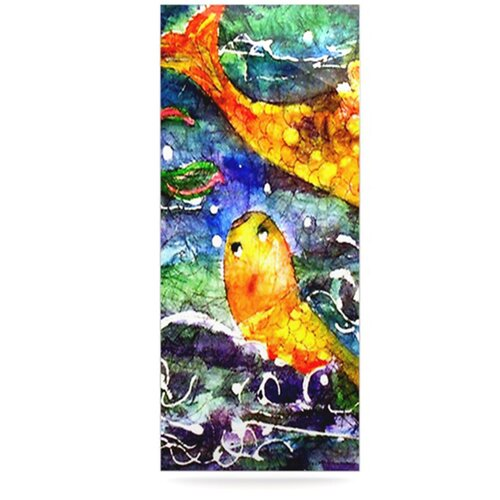 Fantasy Fish by Rosie Brown Painting Print Plaque
