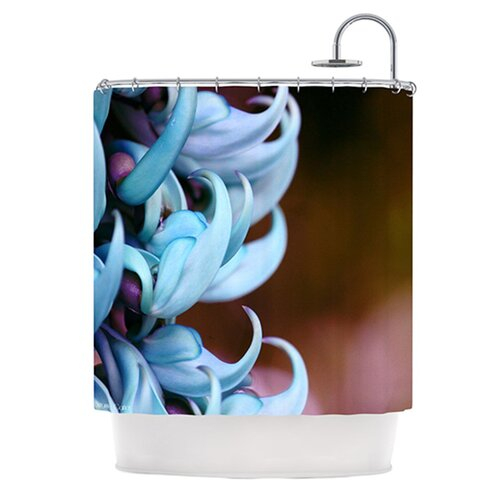 Bloom Polyester Shower Curtain