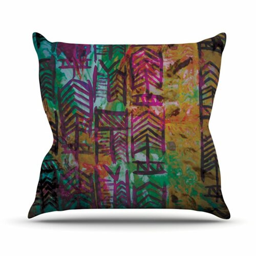 KESS InHouse Quiver IV Throw Pillow